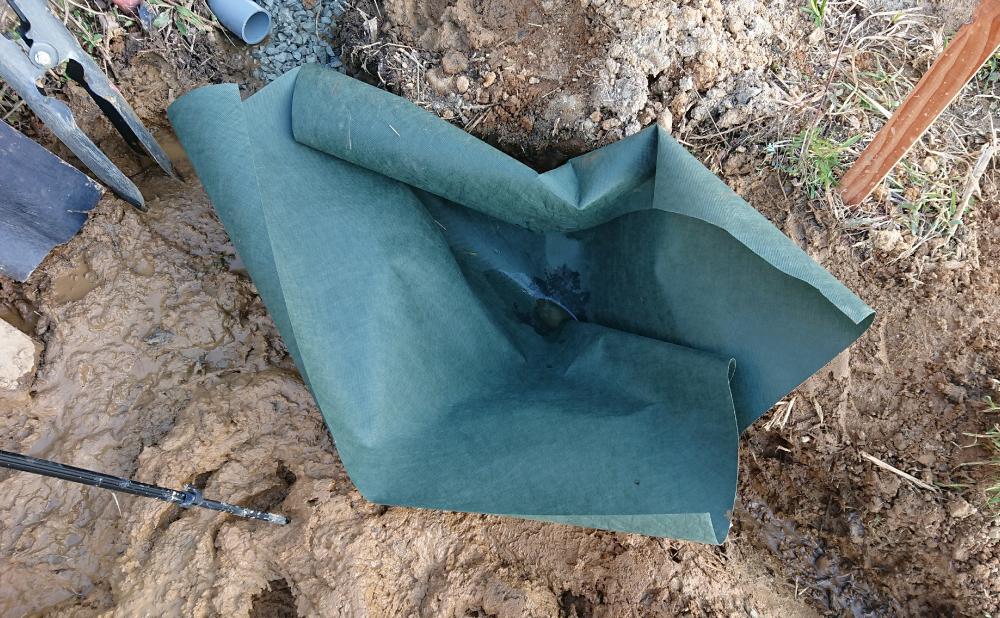 浸透ます用の防草シート