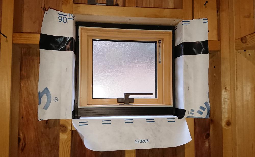 トイレの窓(内観)